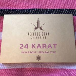 Jeffree Star cosmetics 24 karat skin frost